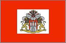 Flagge 'Hamburg'