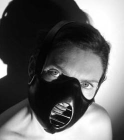 Leder Maske 'De-Genesis'