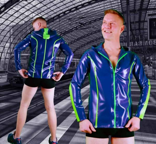 Latex Sport Zip-Up Jacke