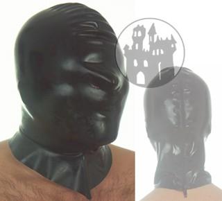 Latex Maske - komplett geschlossen