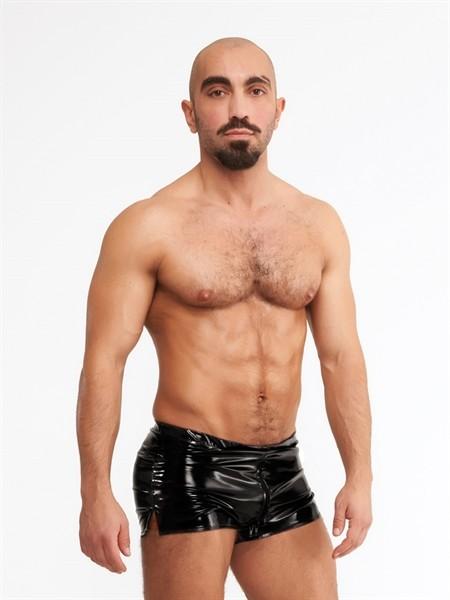 PVC Mini Shorts