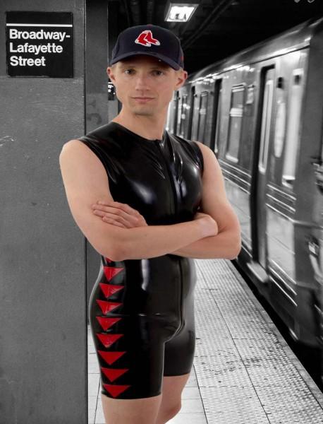Latex Shortsuit 'Navigation'