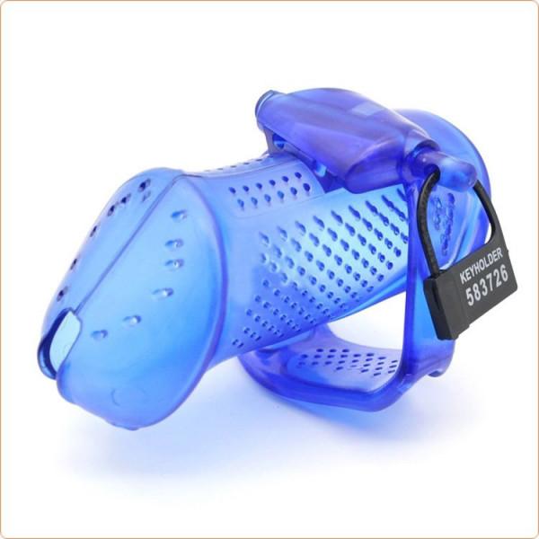 Hartplastik Keuschheitskäfig mit kleinen Öffnungen