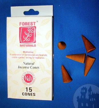 Forest Naturals Räucherkegel Meditation