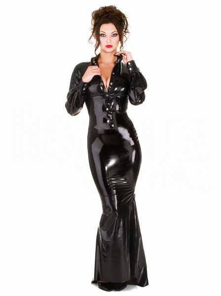 Latexbluse 'Fitted' 2