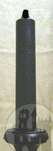 Jumbokerze schwarz