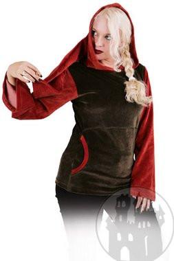Flauschiges Nickishirt mit Kapuze, noch mehr Fantasykleidung im Fantasy Shop
