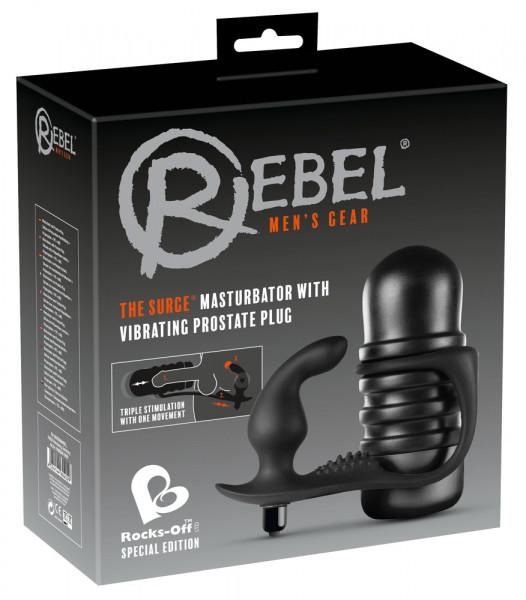 Rebel & Rocks Off - The Surge Schwarz SU8901 online kaufen im Sexshop