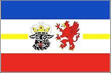 Flagge 'Mecklenburg-Vorpommern'