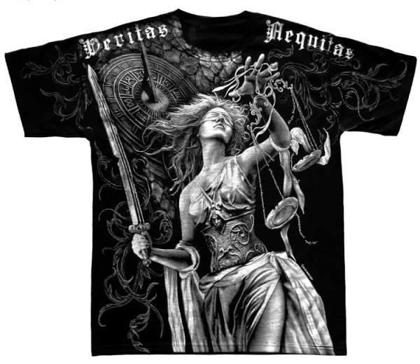 Shirt mit Frauen-Print