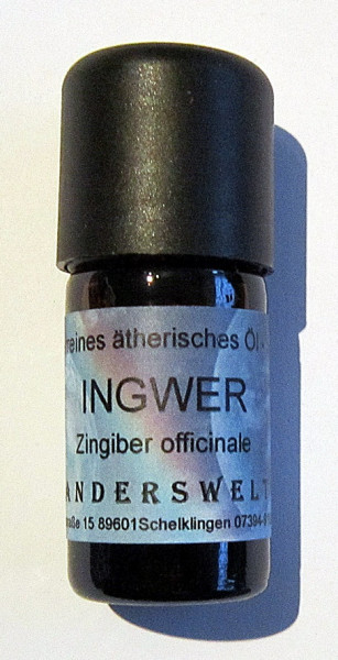 Ingwer - ätherisches Öl