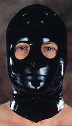 Latex Maske Mund und Nase geschlossen - Augen offen