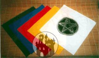 Ritualtuch mit Pentagramm