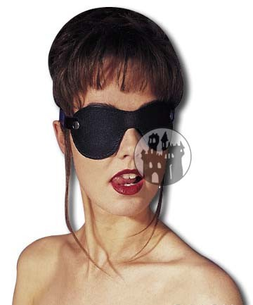 Leder Augenbinde