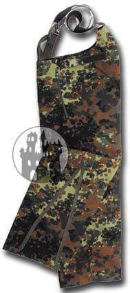 BW Regenhose - beschichtet - Flecktarn