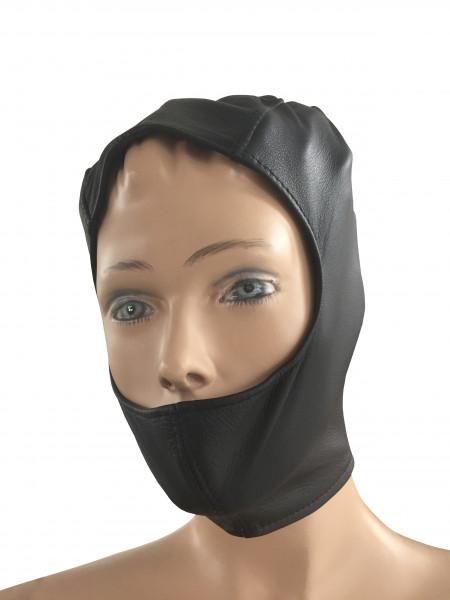 Leder Kopfmaske