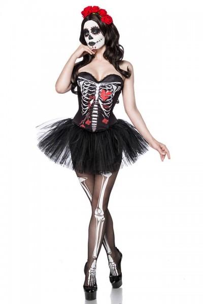 Skull Senorita Kostüm - vorne