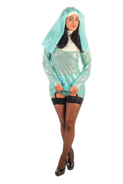 PVC Nonnen-Outfit