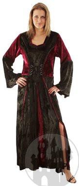 Hexenkleider, Samtkleider, Gothickleider und Satinkleider im Gothicfashion Shop