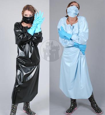 PVC Arzt Outfit