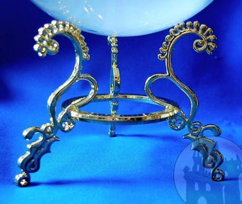 Kristalkugelhalter aus Metall