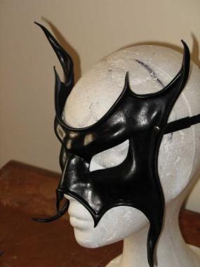 Leder Maske 'Violent Mistress'