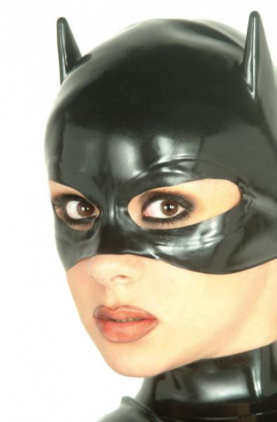 Latex Katzenmaske, getaucht