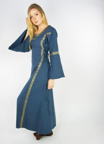 Mittelalterkleid mit Bordüre