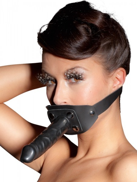 Mundknebel aus Leder