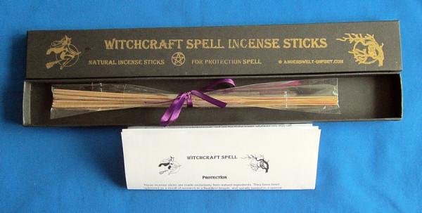 Witchcraft Räucherstäbchen für Schutzzauber