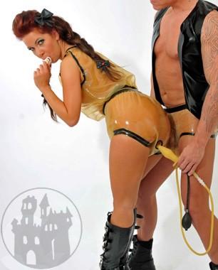 Strap-On Dildos und Panty