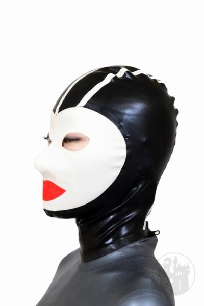 Latex Maske mit Gesicht
