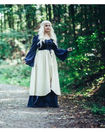 Mittelalterkleid - zweifarbig
