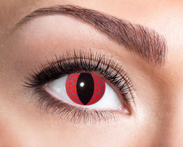Kontaktlinsen 'Red Dragon'