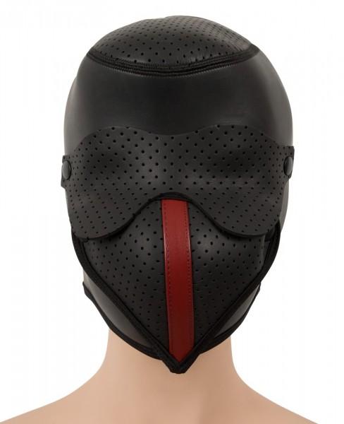 Kopfmaske mit perforierten Einstätzen - Vorderseite