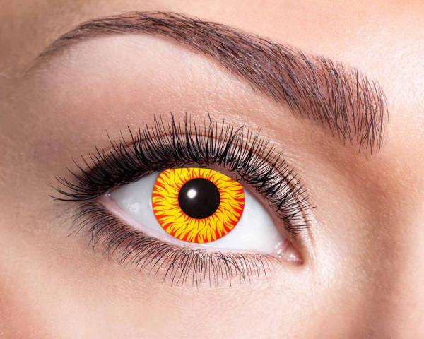 Kontaktlinsen 'Sun'