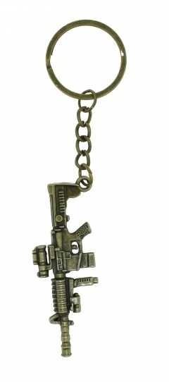 Schlüsselanhänger - Goldenes Sturmgewehr