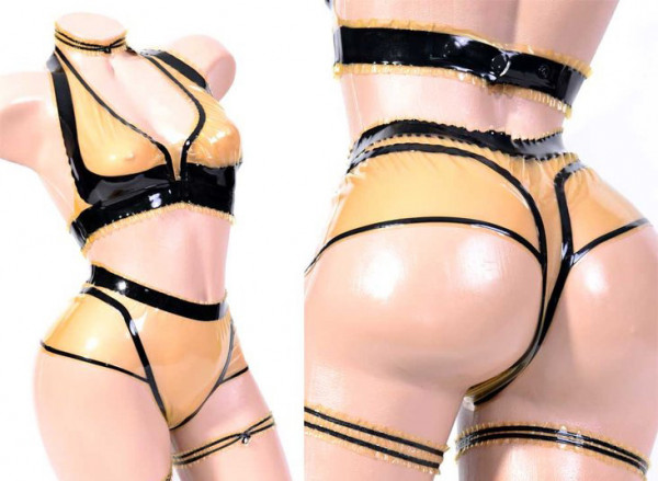 Latex String Panty