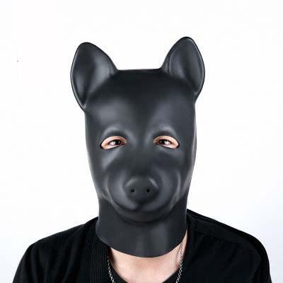 Latex Maske Hund