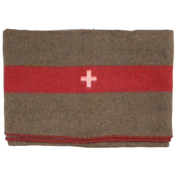 Schweiz Wolldecke