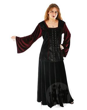 Mittelalterblusen, Gothictops, Gothickleider, Gothicblusen, und Samtoberteile im Darkfashion Shop