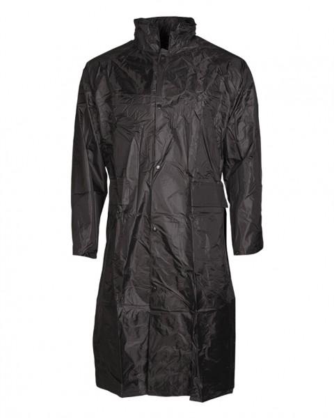 Regenmantel schwarz