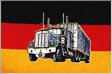 Flagge 'Deutschland mit Truck'
