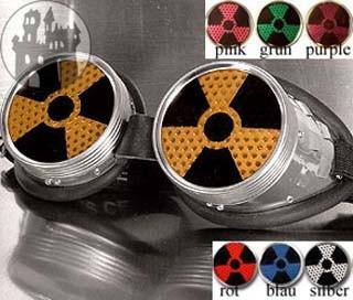 Cyber - Schweißerbrille - Radioactive