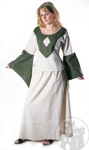 Edle mittelalterliche Blusen sowie dazu passende mittelalterliche Röcke im Mittelalter Shop