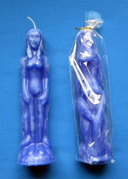 Figurenkerze für magische Zwecke Frau
