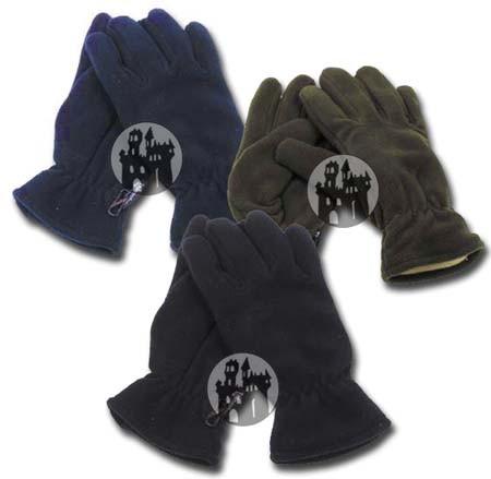 Fleece Fliegerhandschuhe - mit Thinsulate