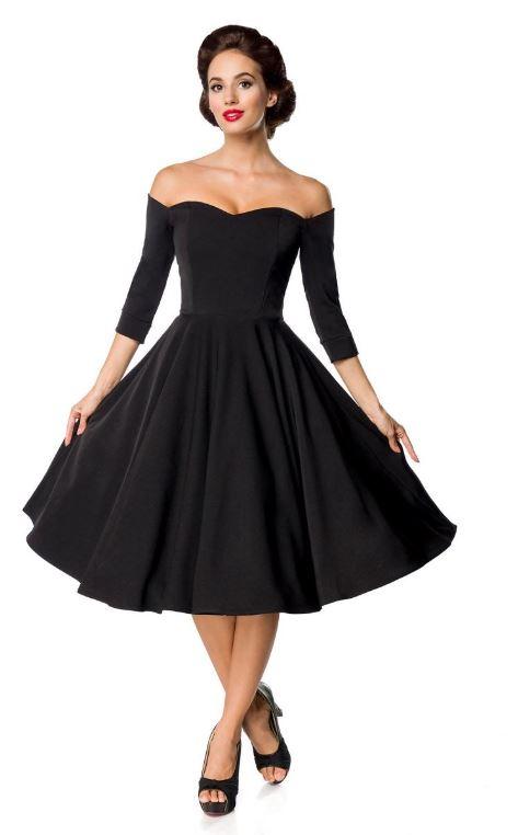 Vintage Swing-Kleid schulterfrei | Kleider - lang | Sexy ...