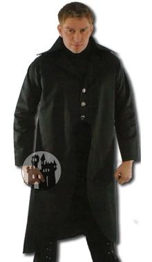 Mantel aus Baumwollsamt