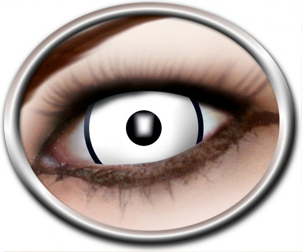 Kontaktlinsen 'Dead White'